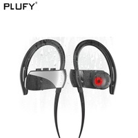 PLUFY Sports Bluetooth Headset Waterproof Swimming CSR4 1 Wireless Ear Hanging Headphones Earphones Auriculares Inalambrico