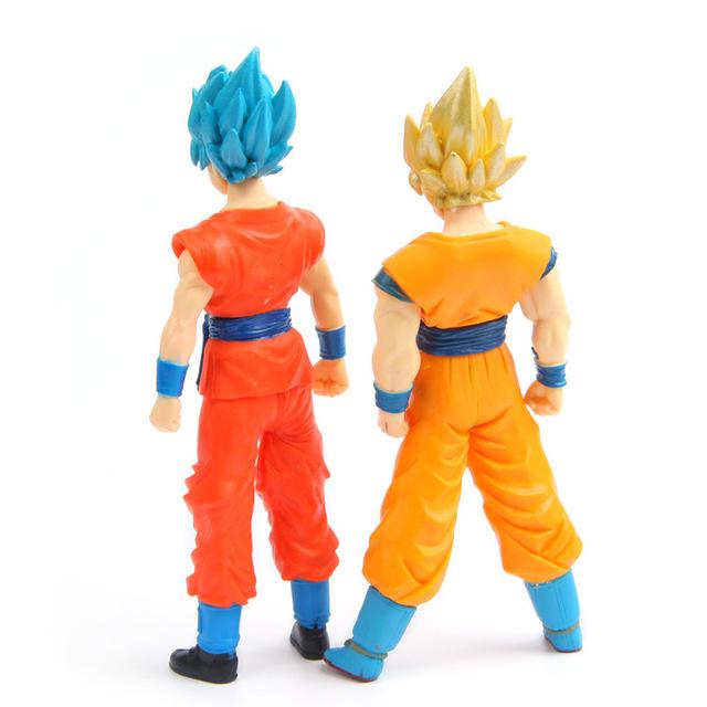 Dragon ball Z Super Saiyan Goku Vegeta Action figuras