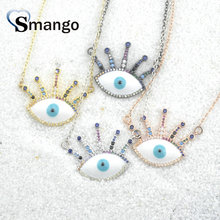 Pop Charms, The Rainbow Series Jewelry ,The Eye Shape Pendant Necklace, Can Wholesale, Necklace Women, 5Pieces