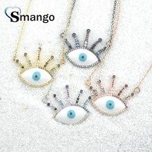 цены на Pop Charms, The Rainbow Series Jewelry ,The Eye Shape Pendant Necklace, Can Wholesale, Necklace Women, 5Pieces в интернет-магазинах