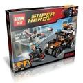 LEPIN 07031 DC Super Heroes Poderoso Micros Série Falcon Black Widow figureblock Modelo Brinquedos Building Block Compatível Com tijolos