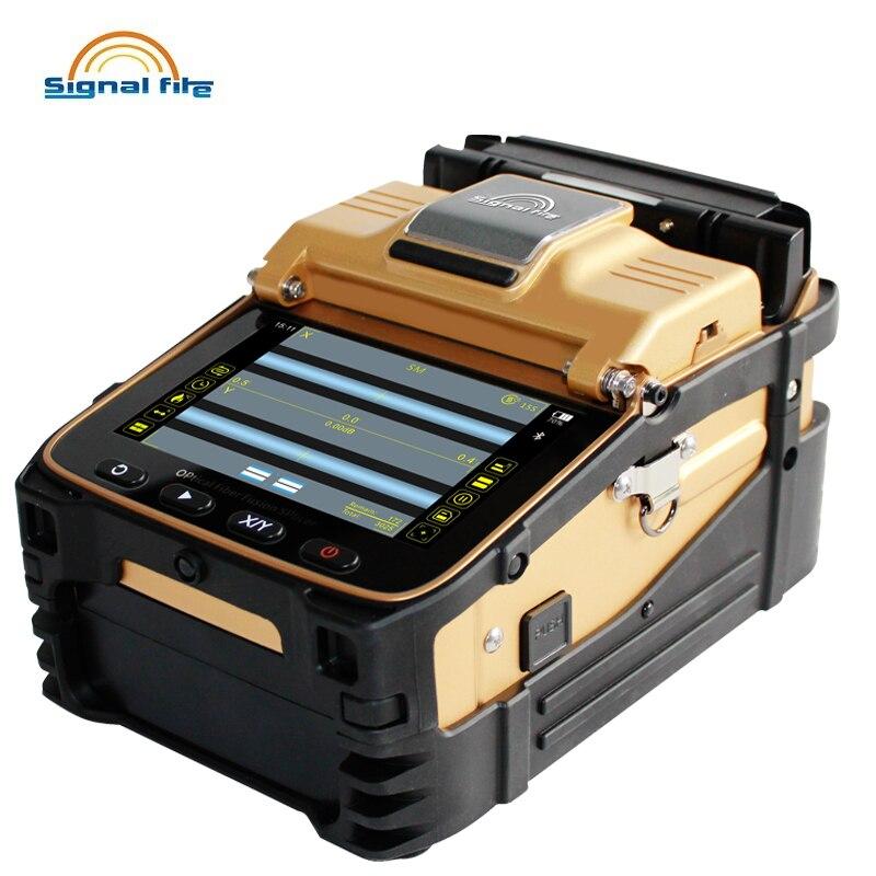 AI 8C SM & MM Automatische Intelligente Optische Faser Fusion Splicer FTTH Optic Faser Spleißen Maschine-in Glasfaser-Ausrüstungen aus Handys & Telekommunikation bei AliExpress - 11.11_Doppel-11Tag der Singles 1