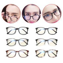 New Anti-blue Optical Glasses Men Women Fashion Retro Frame Anti-radiation Flat Mirror Eyewear