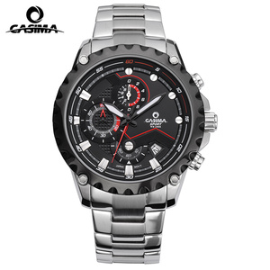 Image 2 - Relogio Masculino CASIMA Chronograph Sport Watch Men 100M Waterproof Charm Luminous Military Army Quartz Wrist Watch Clock Saat