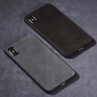 Suede Phone Case For iPhone X 6 6S 7 8 Plus 7plus 8plus cover Fluff material TPU+PC Soft silicone protection hard shell
