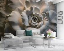 beibehang Fresh 3D embossed peacock magnolia TV background papier peint decorative painting custom papel de parede 3d wallpaper