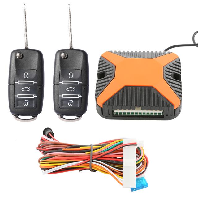 Cor especial auto sistema keyless da entrada central remoto de travamento da porta, saída da janela de poder negativo & LED indicador de status