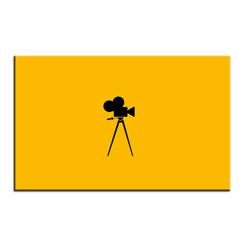 Large size Printing Oil Painting film camera Wall painting Decor ...