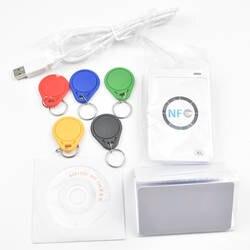 Оригинальный USB ACR122U NFC RFID считыватель смарт-карт писатель + 5 шт. UID карты + 5 шт. UID Теги + SDK + M-ifare копия клон программное обеспечение