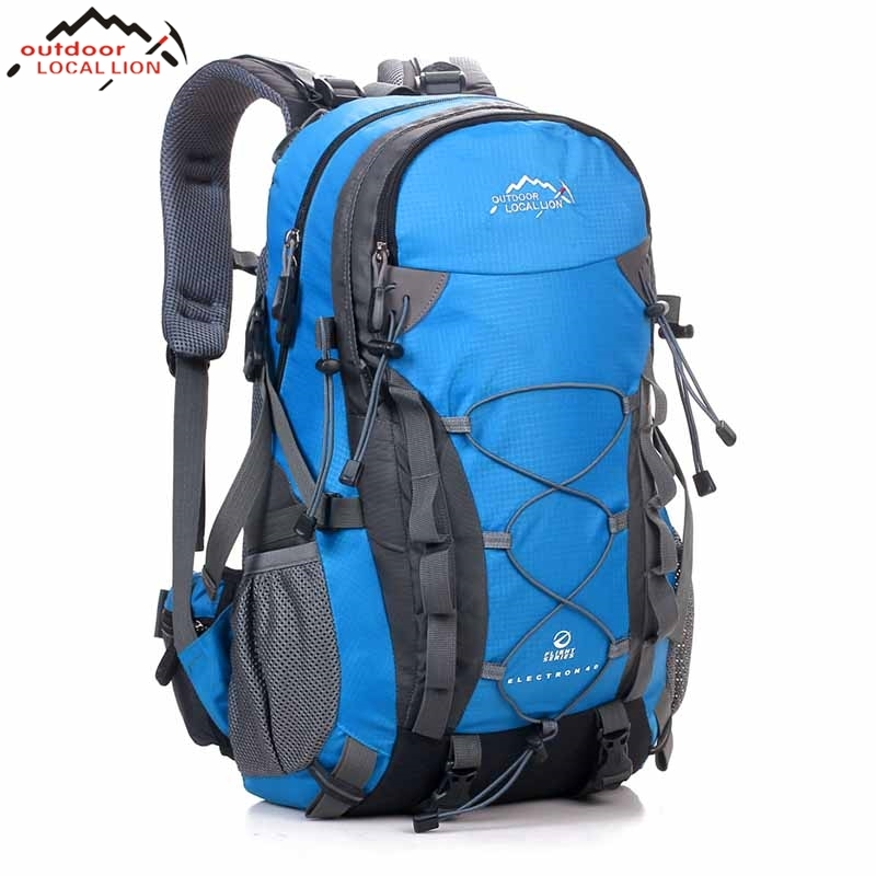 Outdoor Camping Wear Resistant 40L Backpack Mountaineering Hunting Travel Backpack Big Capacity Waterproof Sports Bag