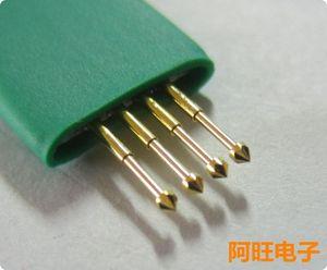 Image 4 - 1.27 4P STC Burning Needle Test Needle Write Program Probe 4 Feet Spring Needle 1.27mm 4P