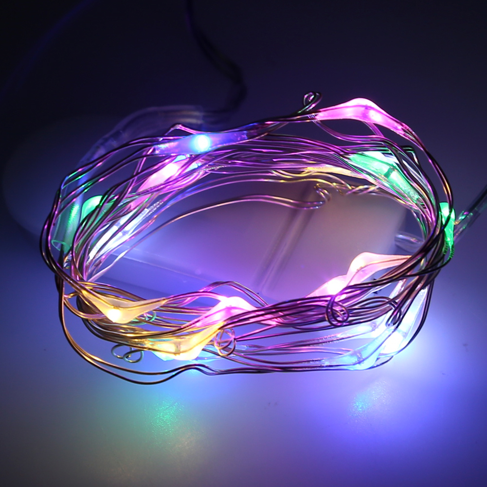 Led String Lights With Battery : 10pcs/lot CR2032 Button Battery Operated 2M 20 Micro LED String Lights,Led Fairy Light For ...