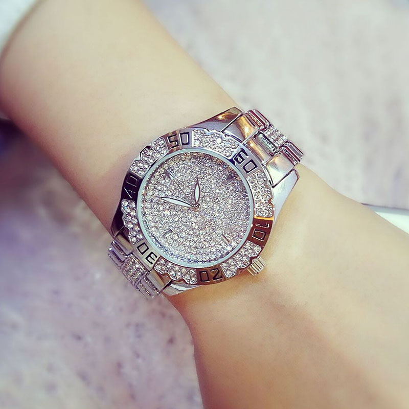 Hot Sale Luxury Geneva Brand Crystal watch women ladies women fashion dress quartz wrist watch Relogios Feminino montre homme new fashion brand gold geneva casual quartz watch women crystal silicone watches relogio feminino dress ladies wristwatches hot
