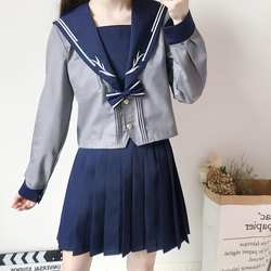 Студенческая форма, японская школьная форма, Япония и Южная Корея, костюм моряка, костюмы аниме, COS, Япония, школьная форма, женские комплекты