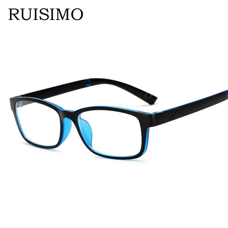 Marca moda gafas marcos coloridos de plástico marcos de anteojos ...