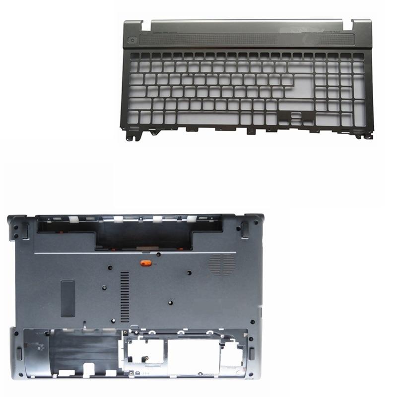 Laptop Copertura Della Cassa Base Inferiore Porta e Palmrest tastiera Per Acer Aspire V3 V3-551G V3-571 V3-571G V3-531 V3-551G Q5WV1 NUOVO