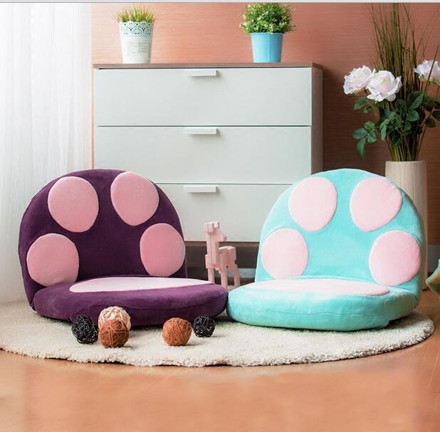Buy Paw Cushion Seat Foldable Floor Chair