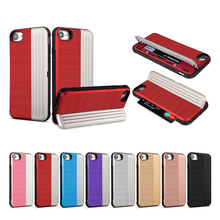 Nephy Card Slot Phone Case For iPhone 7 Luxury Wallet Mobile Accessorie