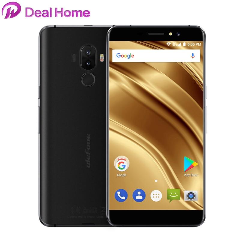 Case)gift!Ulefone S8 Pro 5.3 Inch Android 7.0 4G MT6737 Quad Core 13MP+5MP 2GB RAM 16GB ROM 3000mAh Fingerprint ID Smartphone