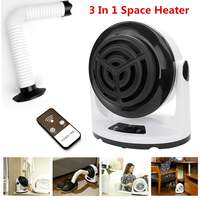 Electric Space Heaters Clothes Dryer Desktop Portable Home Room Handy Fan Heater PTC Ceramic Heating Fast Power Saving Warmer