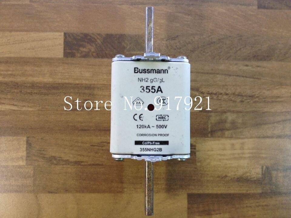 все цены на  [ZOB] The United States Bussmann NH2 gG/gL 355NHG2B 355A 500V fuse fuse original  --2pcs/lot  онлайн
