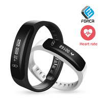 FORCA K8 Blood Pressure Wrist Watch Pulse Meter Monitor Heart Rate Smart Band Fitness Tracker Message Reminder Sport Watch