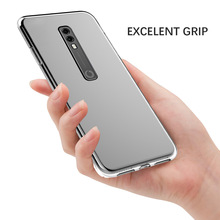 for Vodafone Smart V10 Case Clear TPU Protective Transparent Soft Silicone Cover V 10 Shockproof