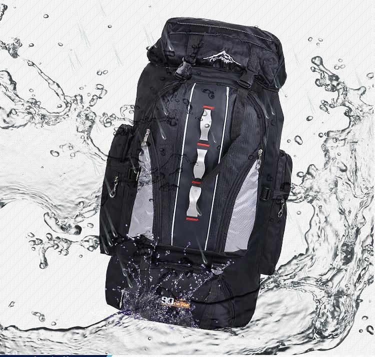 mochila dos homens das mulheres caminhadas acampamento escalada pesca saco xa769a