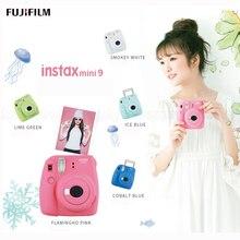 Натуральная Fuji Fujifilm Instax Mini 9 Фотоаппарат моментальной печати, пять цветов, принимает Fujifilm Instax Mini Instant Плёнки