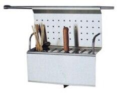 ... Flatware Hang Rack Wall Mounted Stainless Steel Utensil Holder Cutlery Organizer  Kitchen Storage Pantry Soporte De ...