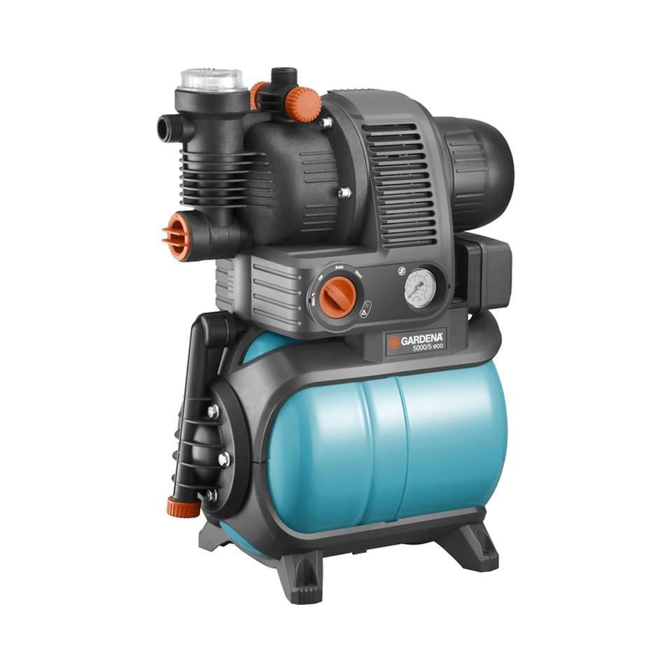 Купить со скидкой Станция бытового водоснабжения GARDENA Eco Comfort 5000/5 автоматическая