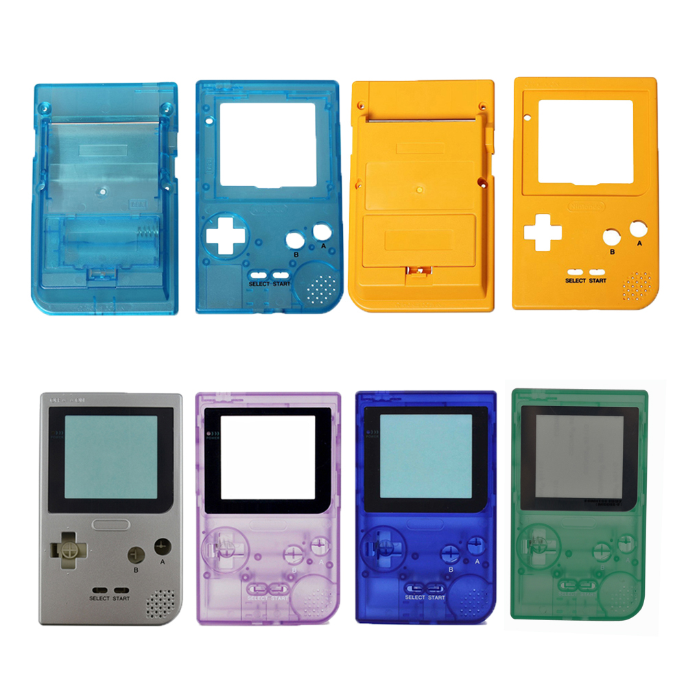 10PCS Replacement Game Case Plastic Shell Cover for Nintend Gameboy Pocket Game Console for GBP Console Case housing