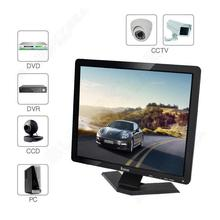 "Free shipping!Eyoyo 19"" Widescreen Ultra HD TFT LCD Monitor BNC/VGA/AV/HDMI/USB For DVR CCTV PC HOT"
