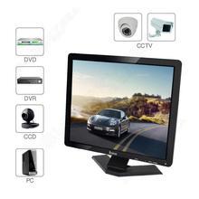 """Бесплатная доставка! Eyoyo 19 """"Широкоэкранный Ultra HD TFT ЖК-Монитор BNC/VGA/AV/HDMI/USB Для DVR CCTV PC HOT"""