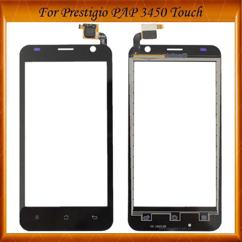 Top Quality For Prestigio Pap3450 Pap 3450 Duo Touch Panel With Digitizer Glass Screen Sensor 5pc/lot IN Stock
