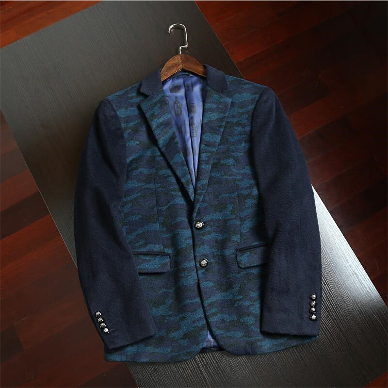 d843b848045b3 New Men Fashion Brand Blazer Fashion Brand Suit Jacket Men ...
