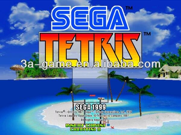 Pinball classic games machine Electronic Puzzle Games SEGA Tetris children's games sega