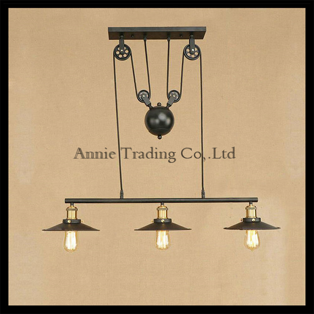 123 lights chandeliers iron shade with pully for edison vintage 123 lights chandeliers iron shade with pully for edison vintage lustre lighting industrial black edison chandelier fixture in chandeliers from lights aloadofball Choice Image