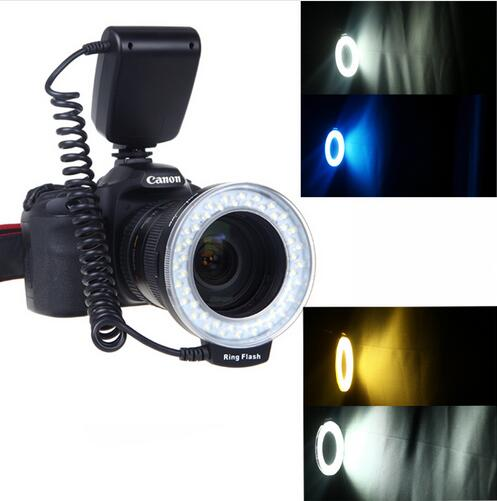 RF 550D RF 550D Macro 48 pieces LED Ring Flash Light for Canon Nikon Pentax Olympus