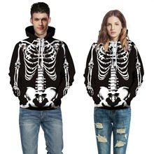 цена на 2019 Fashion 3D Digital Print Animal Sweatshirt Couple Hooded Baseball Suit Hooded Long Sleeve Sweatshirt Unisex Spring Autumn