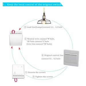Image 3 - Aqara Relay Two way Control Module Zigbee Wireless Relay Controller 2 Channels Smart Light Control Switch Work For Mijia Homekit