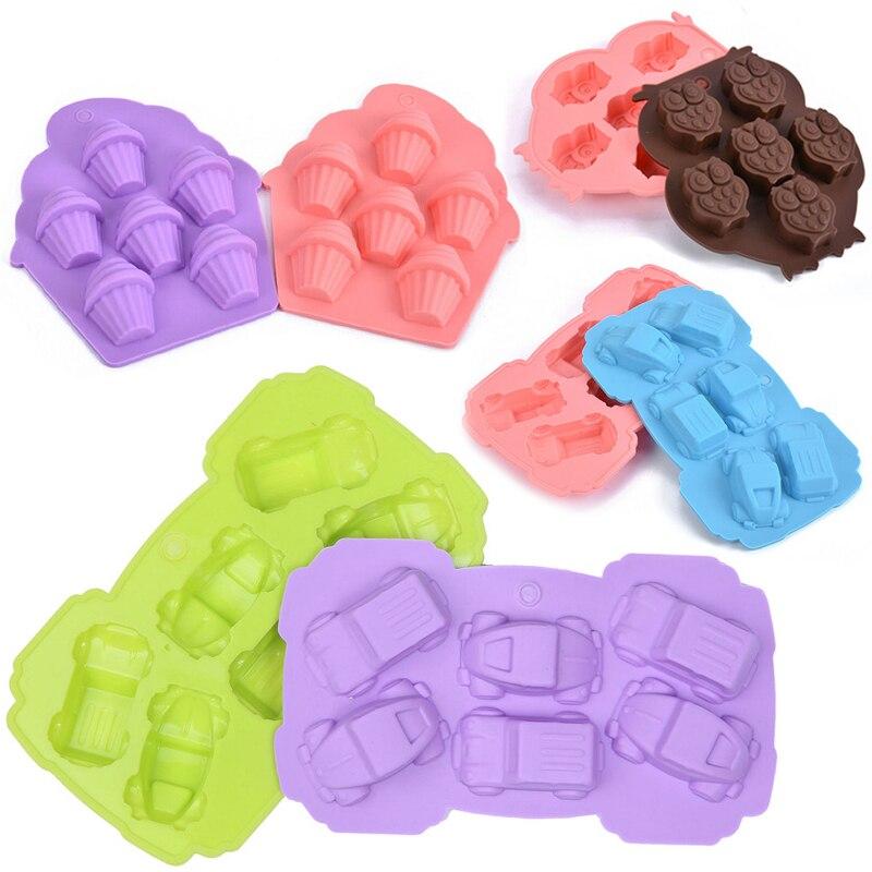 Fondant Cake Silicone Molds : Assorted Silicone Cake Decorating Fondant Molds - Bakeware ...