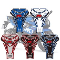 3D Motorcycle Tank Pad Protector Decal Sticker Case Tankp Stickers For Suzuki GSXR 1000 2007