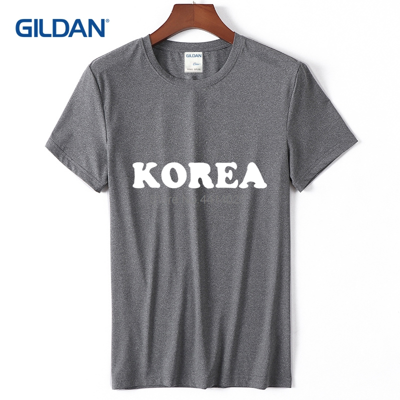 dbc1ebeee Concert Tee Shirt 2018 I Love Korea Best Awesome Coolest Country Tees Men  Sale Cotton Simple Popular T Shirt For Guys-in T-Shirts from Men's Clothing  on ...