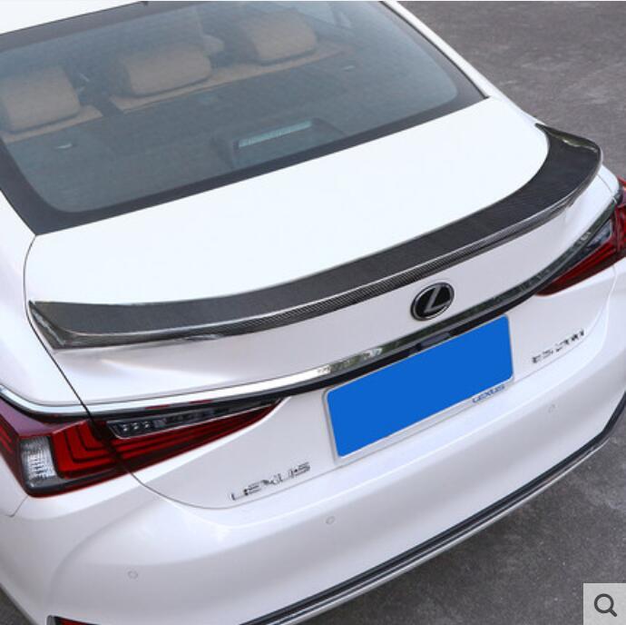 Углеродное волокно CRA задний крыло багажник выступ Спойлеры подходит для LEXUS ES200 ES250 ES300 ES350 2018 2019 2020