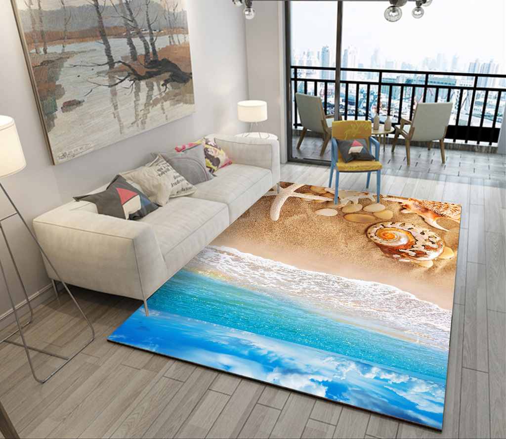 Blue Mediterranean Style 3D Carpets for Living Room Bedroom Carpet Coffee Table Sofa Bed Antiskid Floor Mat Custom Washable RugsBlue Mediterranean Style 3D Carpets for Living Room Bedroom Carpet Coffee Table Sofa Bed Antiskid Floor Mat Custom Washable Rugs