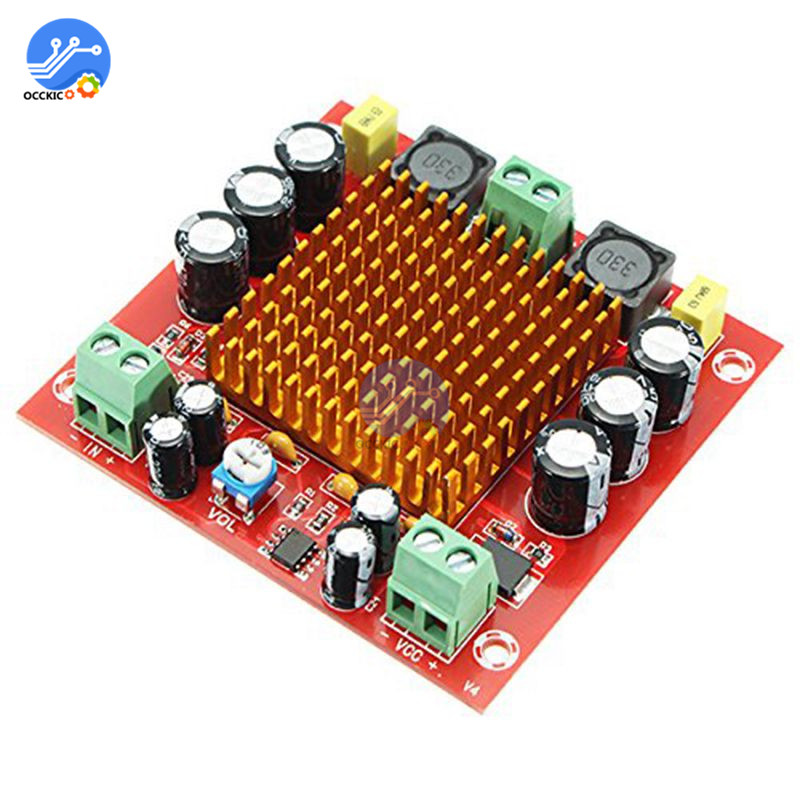 XH-M544 TPA3116DA Mono Amplifier Board Volume Control 150W DC 12V 24V Digital High Power Audio Amplifier For Arduino DIY Kits