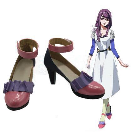 Anime Cosplay Shoes Tokyo Ghouls Kirishima Lolita Punk Touka Punk Japanese Single Shoes Kamishiro Rize Shoes Custom Made аксессуары для косплея neko cosplay