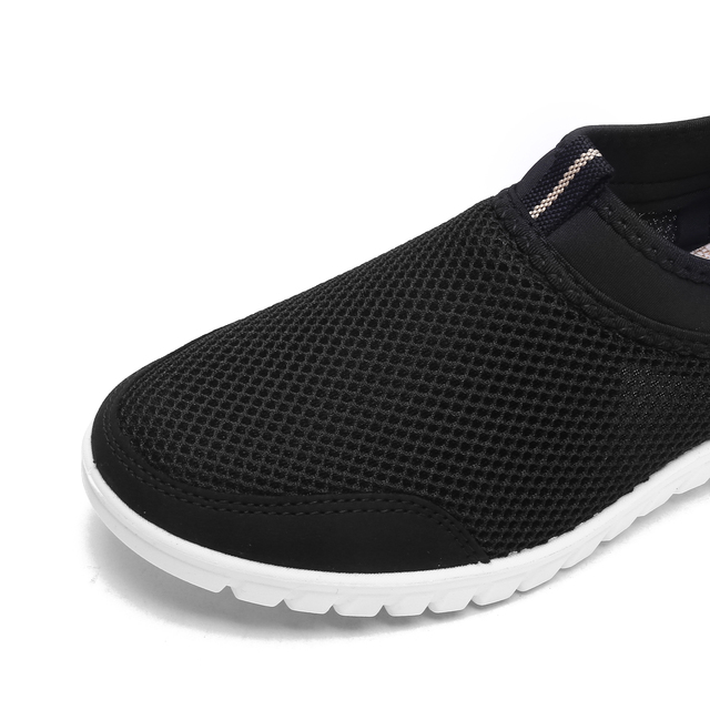 ZUNYU 2019 Summer Mesh Shoe Sneakers For Men Shoes Breathable Men's Casual Shoes Slip On Male Shoes Loafers Casual Walking 38 48