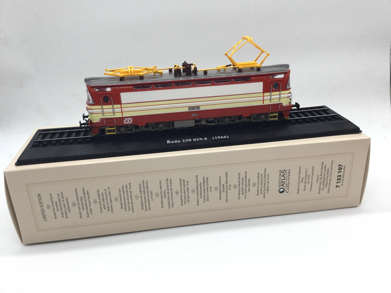 Diecast 1:87 Atlas Rada 230 Train Model For Children Collection Gift Train Toy